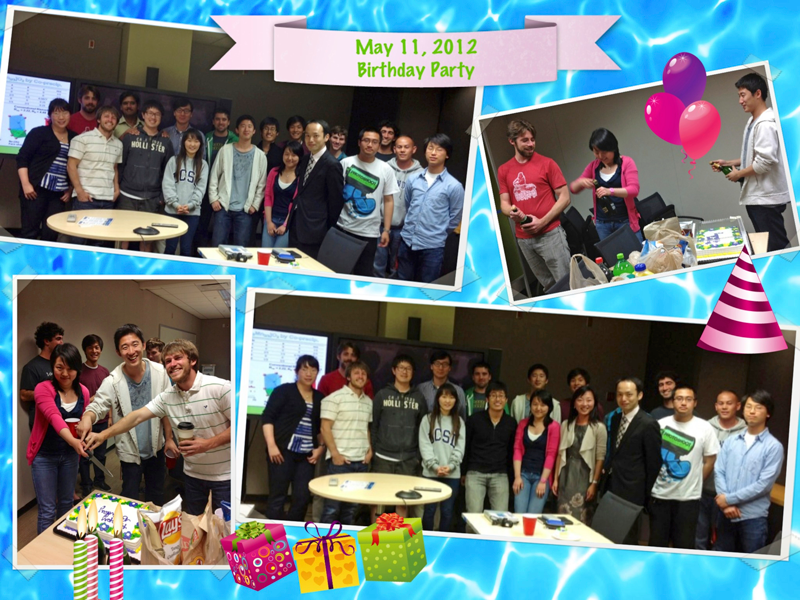 Celebrating May Birthdays: Danna, Mike, Ziying