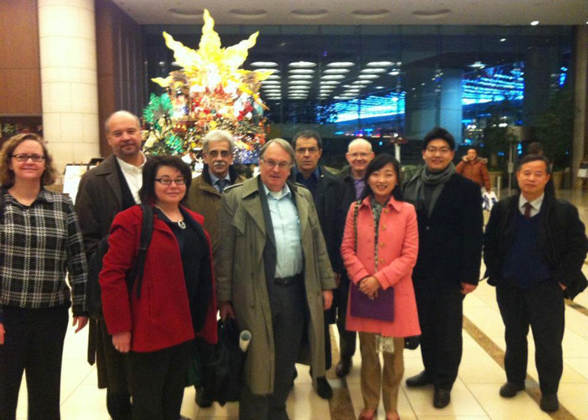 "Prof. Shirley Meng, with other international speakers at FIRST international symposium on ""Innovation on Energy Storage Device by Interdisciplinary Synergy"" at the University of Tokyo, 2013 Jan"