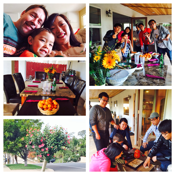 2013 Thanksgiving party at Shirley's house!